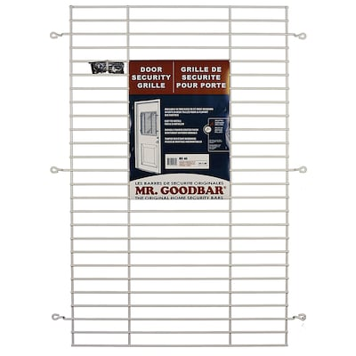 27 In X 36 White Window Security Bar