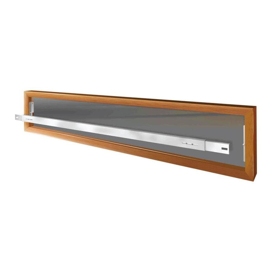 Mr. Goodbar A 64-in White Removable Window Security Bar