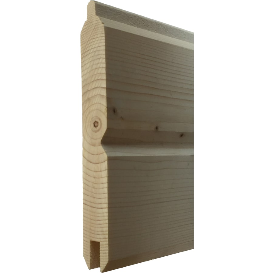 5.38-in x 8-ft Pine Wall Plank