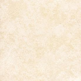 Project Source Tiolo Beige Ceramic Floor Tile Common In X In - 16 x 16 white ceramic floor tile