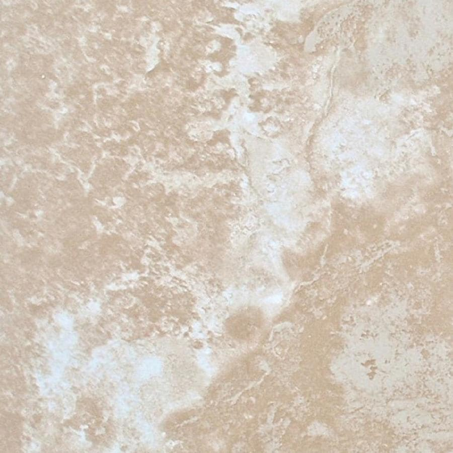 FLOORS 2000 Torino 8-Pack Beige Ceramic Floor and Wall Tile (Common: 18-in x 18-in; Actual: 17.72-in x 17.72-in)