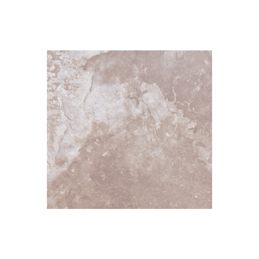 FLOORS 2000 Torino 8-Pack Noce Ceramic Floor and Wall Tile (Common: 18-in x 18-in; Actual: 17.72-in x 17.72-in)
