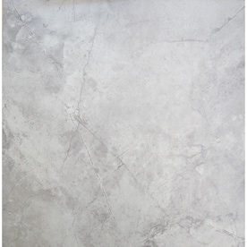 Chilo Gray 18-in x 18-in Glazed Ceramic Stone Look Floor Tile