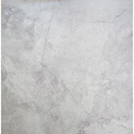Chilo Gray 18-in x 18-in Glazed Ceramic Stone Look Floor Tile
