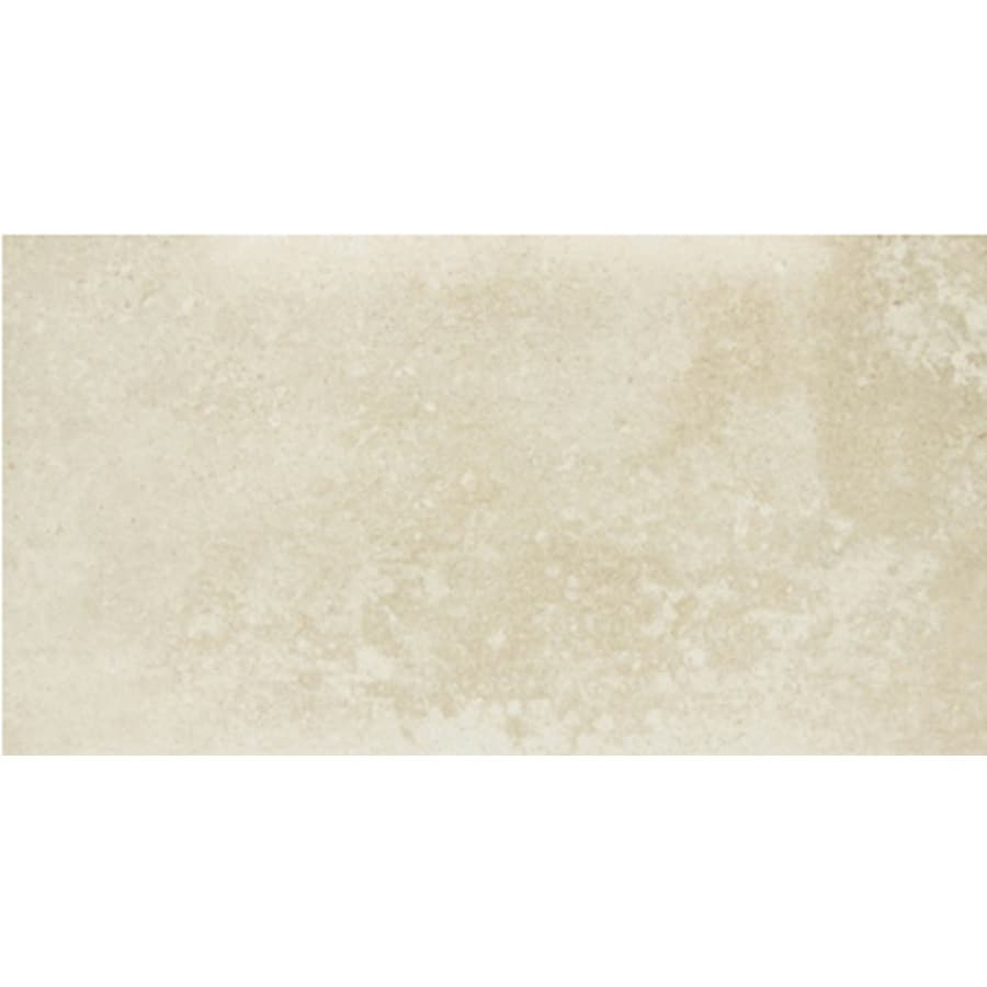 celima cordova beige ceramic floor tile common 12in x 24in