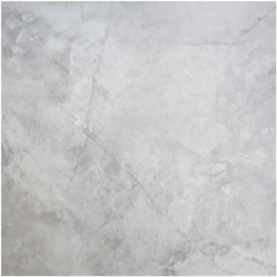 shop project source chilo gray ceramic floor tile common 12 in x