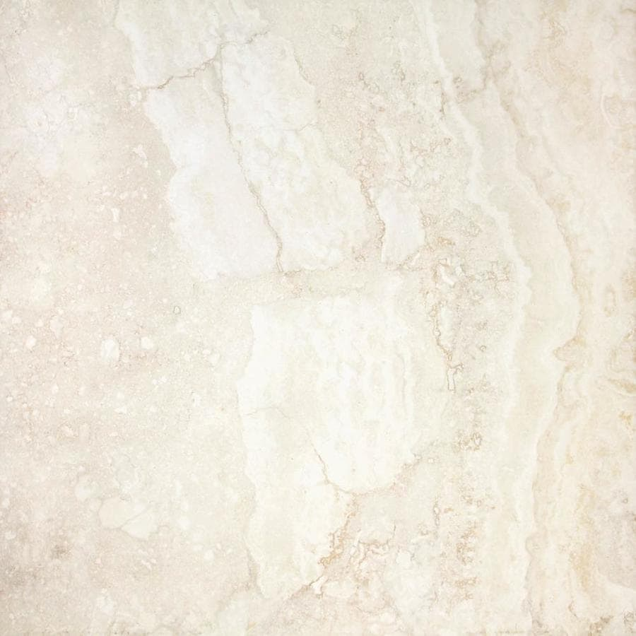 CELIMA Emporio Pearl Uniform Squares Ceramic Marble Floor Tile (Common: 18-in x 18-in; Actual: 17.755-in x 17.755-in)