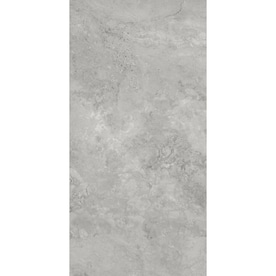 City Gray 12-in x 24-in Porcelain Floor Tile (Common: 12-in x 24-in; Actual: 11.85-in x 23.93-in)