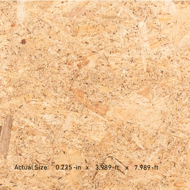 Utility 1/4 CAT Utility OSB, Application as 4 x 8