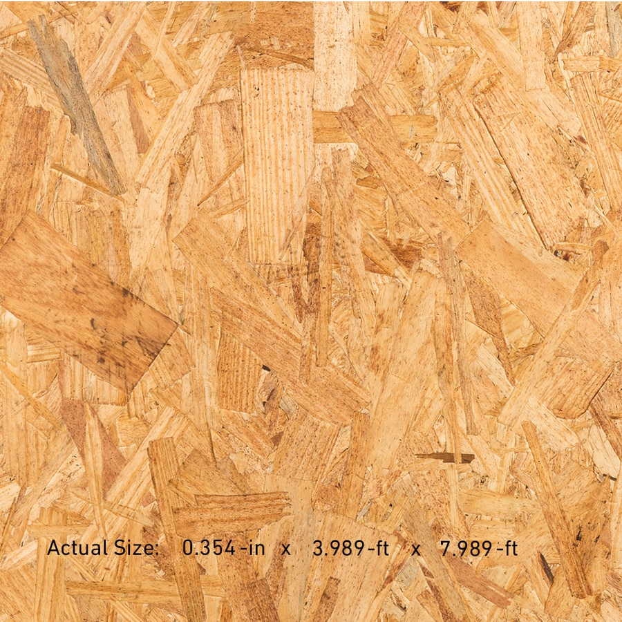 Trubord Sheathing 3/8 CAT PS2-10 OSB Sheathing, Application as 4 x 8