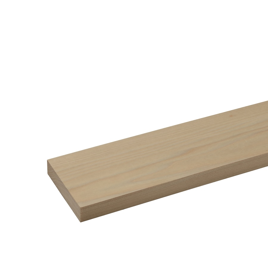 Poplar Board (Common: 1/2-in x 4-in x 2-ft; Actual: 0.5-in x 3.5-in x 2-ft)