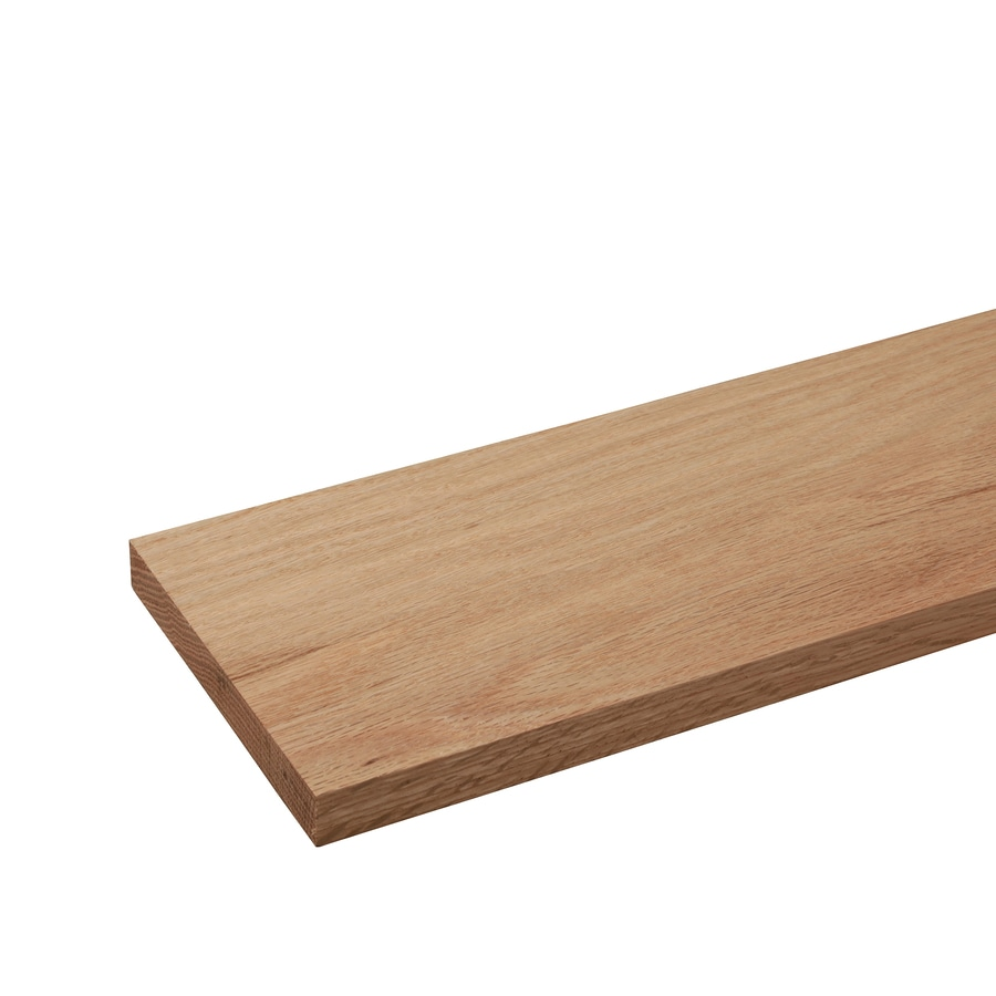 (Common: 1/2-in x 6-in x 4-ft; Actual: 0.43-in x 5.5-in x 4-ft) Oak Board