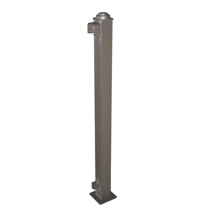 Classic (Actual: 2.75-in x 2.75-in x 3.67-ft) Yard Bronze Aluminum Deck Post