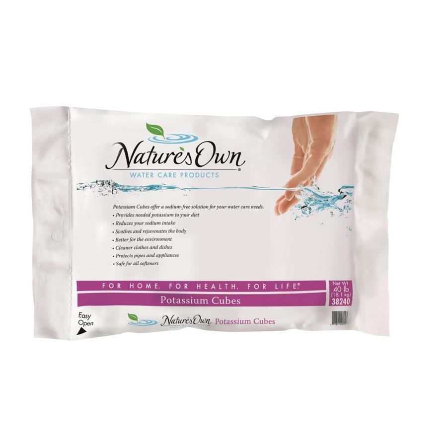 Nature's Own 40-lb Salt Potassium Chloride