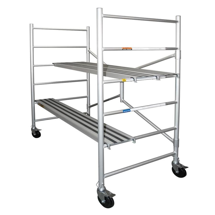 Xtend & Climb 56.5-ft x 29-in x 73-in Aluminum Portable Scaffold