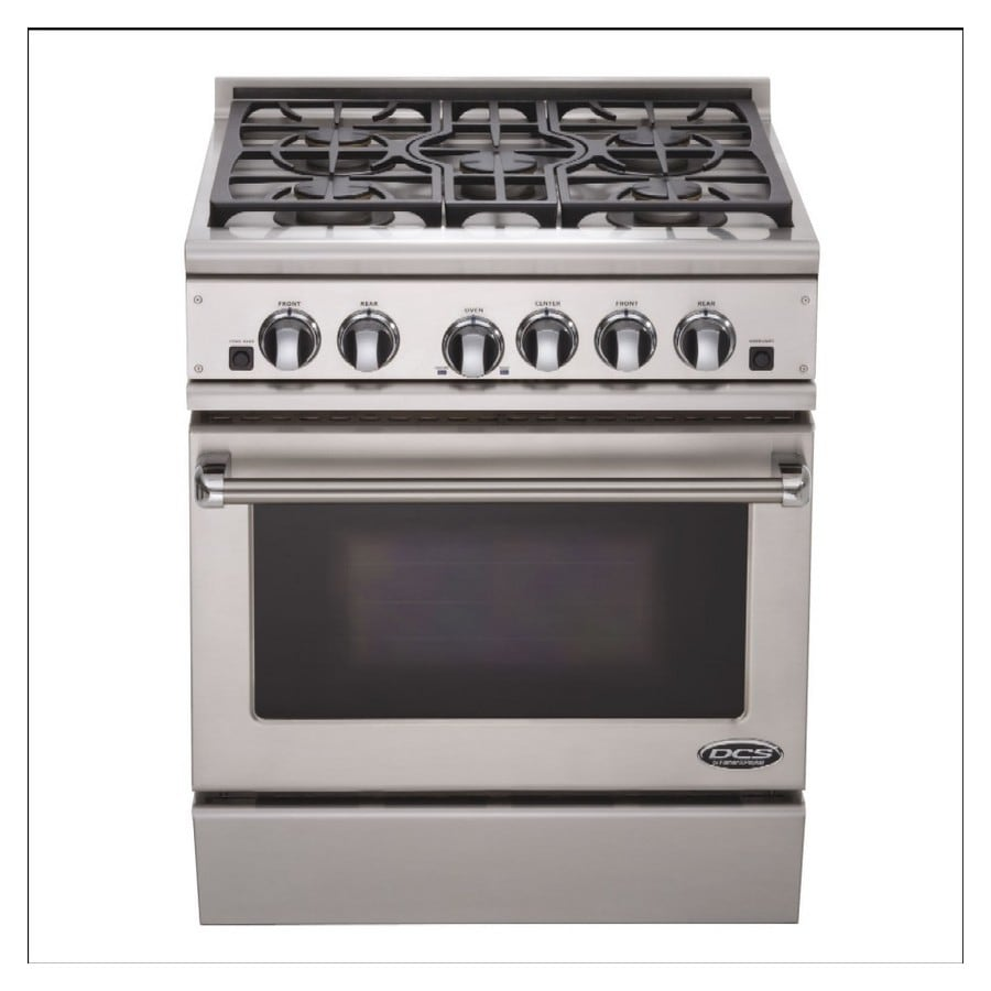 Dcs By Fisher Paykel 30 Inch 5 Burner Freestanding Gas Range Color