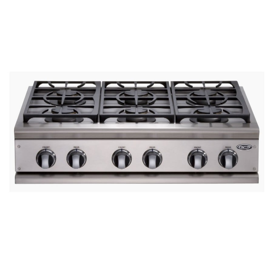 Shop Dcs By Fisher Amp Paykel 36 Inch 6 Burner Gas Cooktop