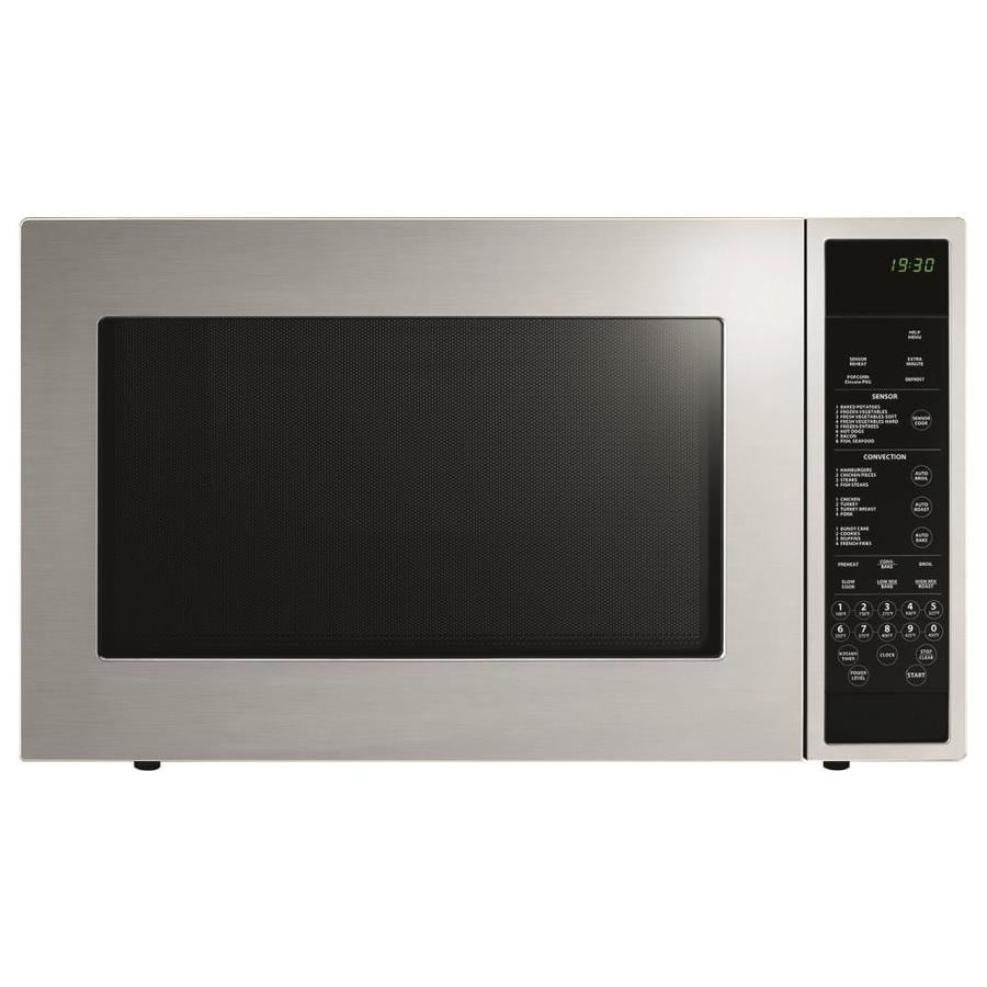 Fisher & Paykel 1.5-cu ft 900-Watt Countertop Convection Microwave (Stainless Steel)