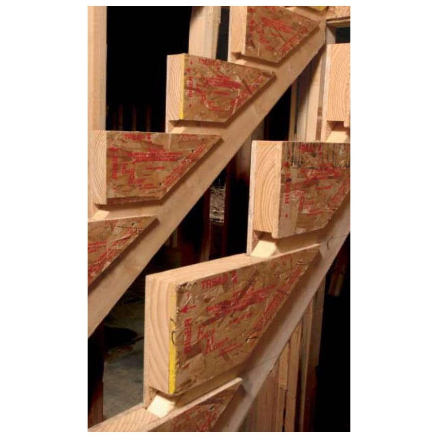 Pine Stair Riser Intermediate Woodworking Kit