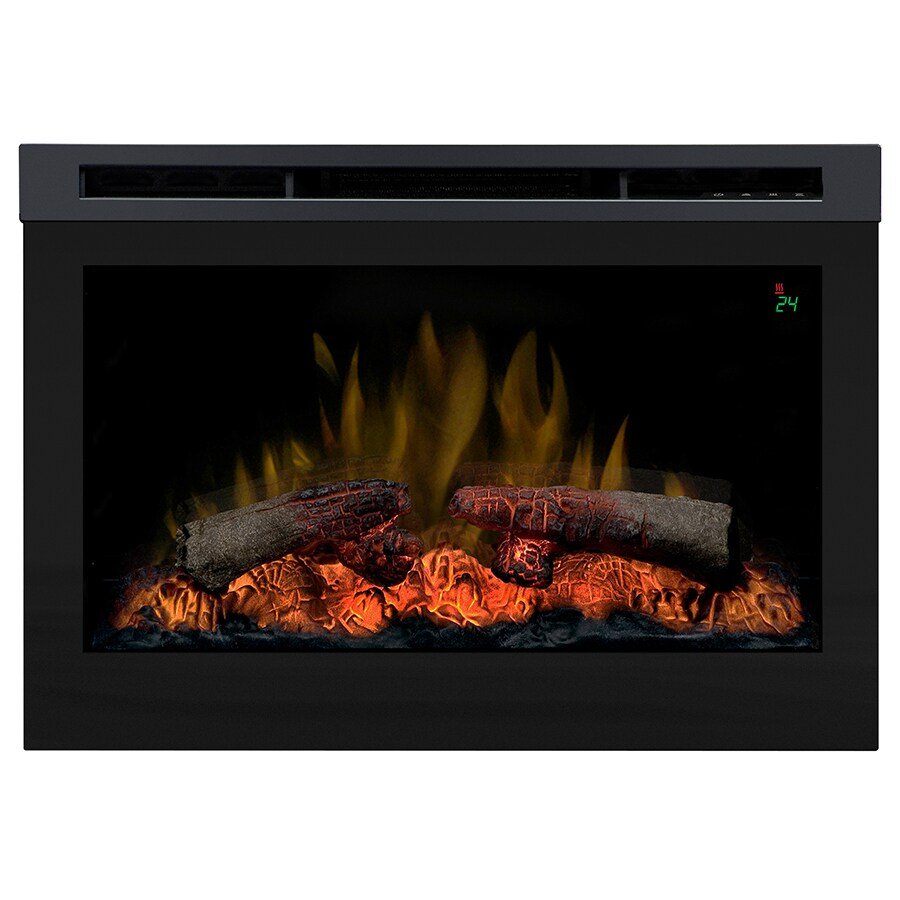 Shop Dimplex Black Electric Fireplace Insert At
