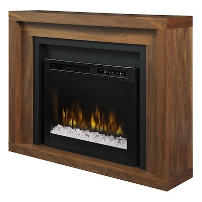 Pleasing Dimplex Anthony Mantel Electric Fireplace With Glass Ember Interior Design Ideas Clesiryabchikinfo