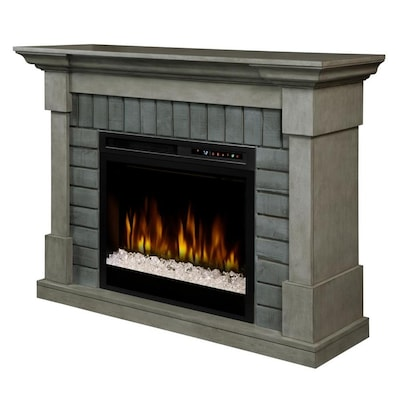 Stupendous Dimplex Royce Electric Fireplace Mantel With Glass Ember Bed Download Free Architecture Designs Embacsunscenecom