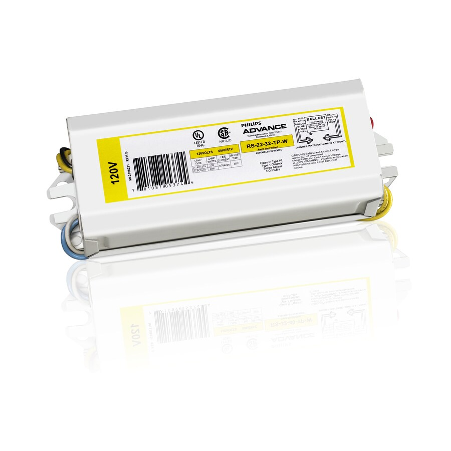 Philips Advance 2-Bulb Residential/Commercial Magnetic Fluorescent Light Ballast
