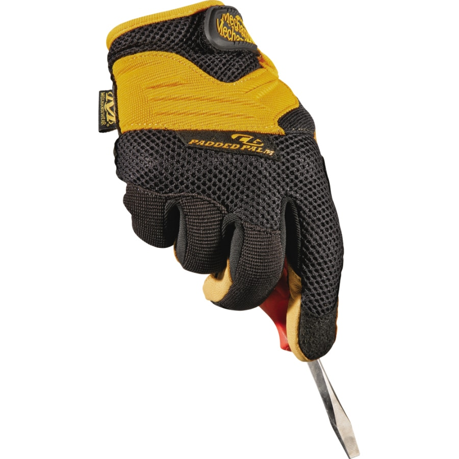 MECHANIX WEAR Large Men's Leather Palm High Performance Gloves