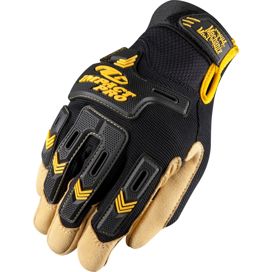 MECHANIX WEAR Large Men's Leather Palm Work Gloves