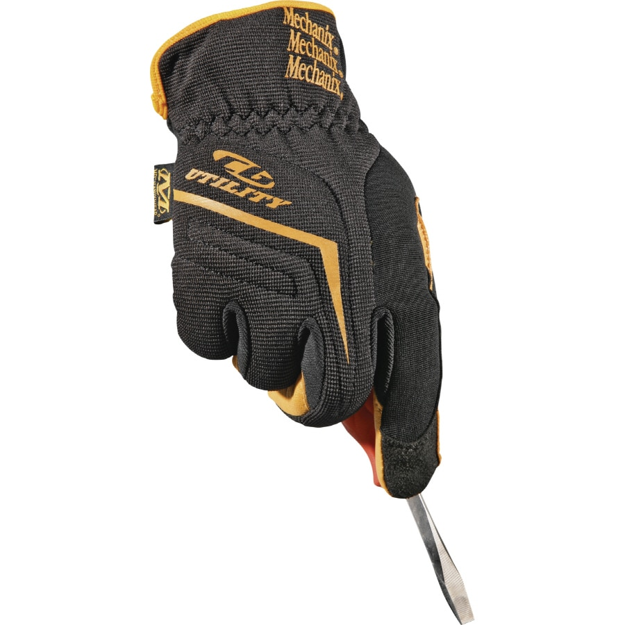 Leather work gloves lowes - Mechanix Wear Large Men S Leather Work Gloves