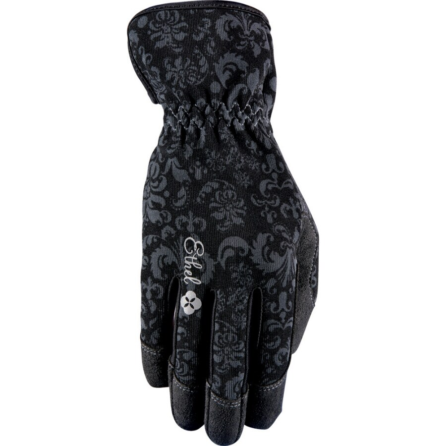 Black gardening gloves - Ethel Gloves Women S Small Black Garden Gloves