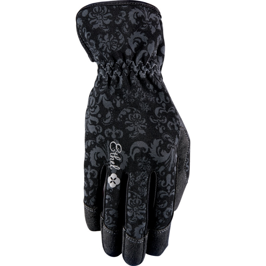 Ethel Gloves Women's Small Black Garden Gloves