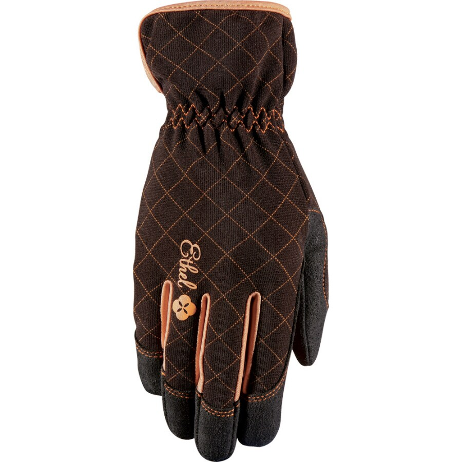 ethel gloves womenu0027s small brown garden gloves