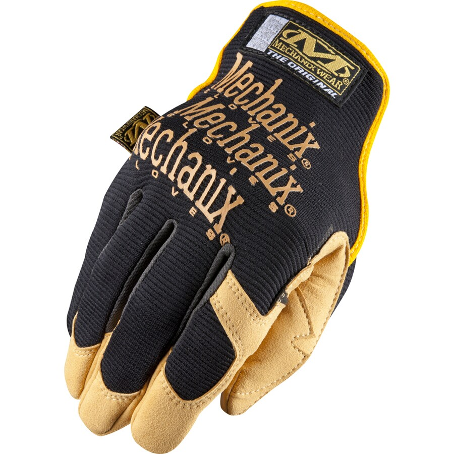 Leather work gloves lowes - Mechanix Wear Large Men S Work Gloves At Lowes