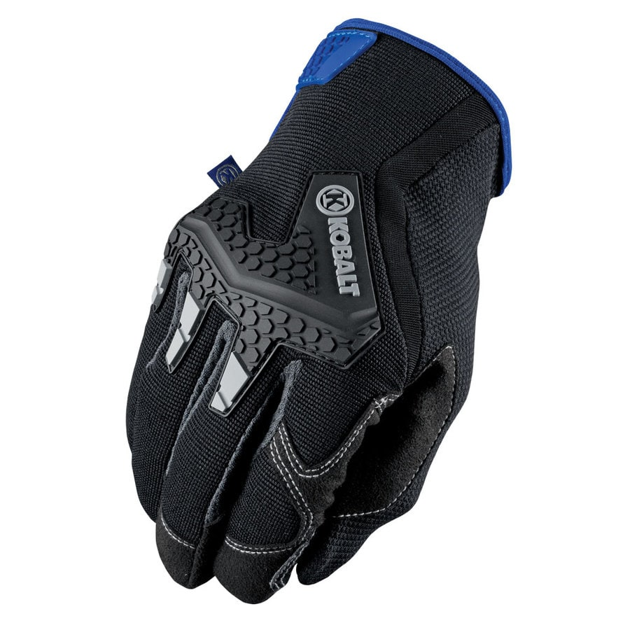 Kobalt Large MenS Synthetic Leather Work Gloves