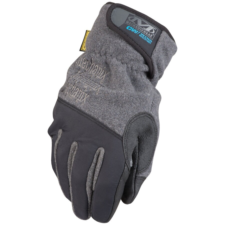 MECHANIX WEAR Large Male Black and Grey Cotton Insulated Winter Gloves