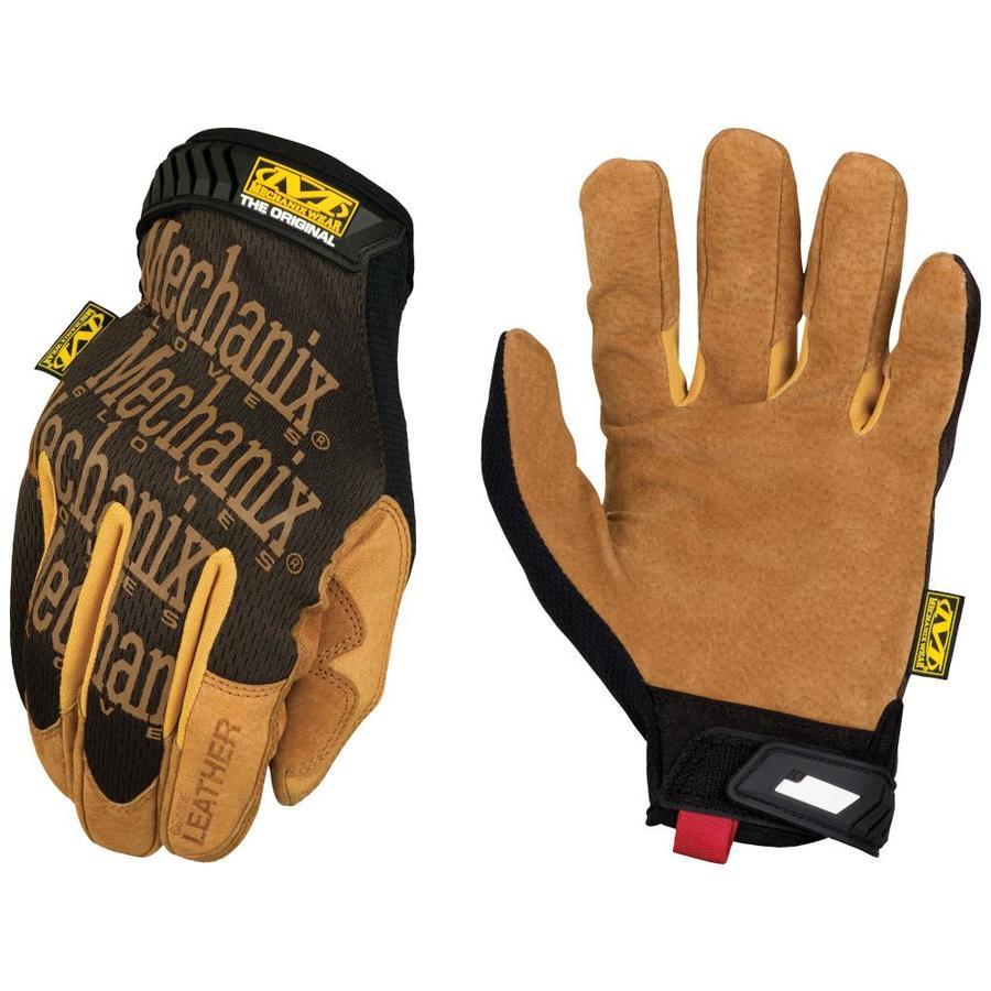 Medium, Orange Mechanix Wear Original Gloves