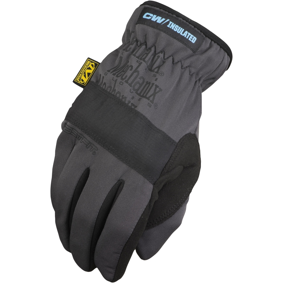 MECHANIX WEAR X-Large Male Black and Gray Cotton Insulated Winter Gloves