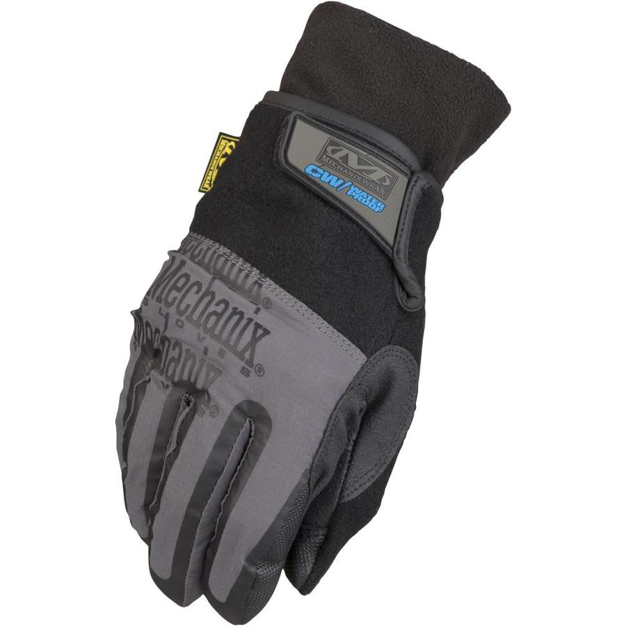 MECHANIX WEAR Large Male Black and Gray Cotton Insulated Winter Gloves