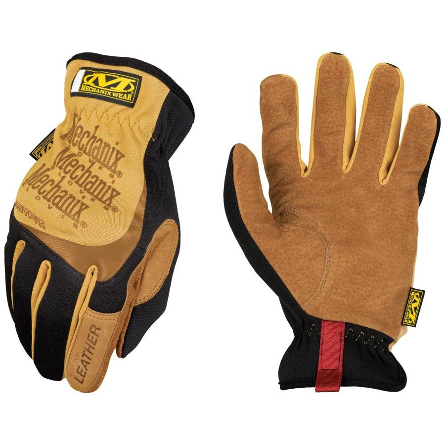 MECHANIX WEAR Leather Fastfit Large Male Leather Palm High Performance Gloves