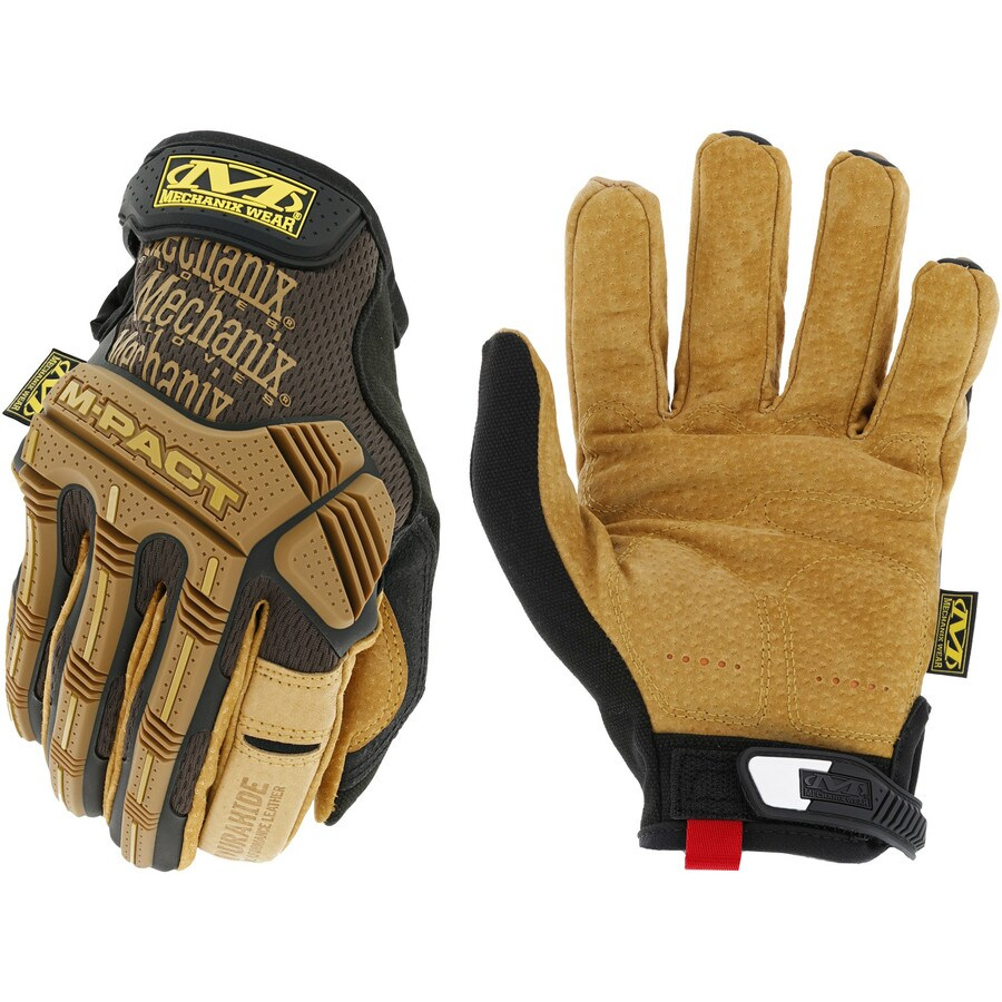MECHANIX WEAR Leather M-Pact Medium Male Leather Leather Palm High Performance Gloves