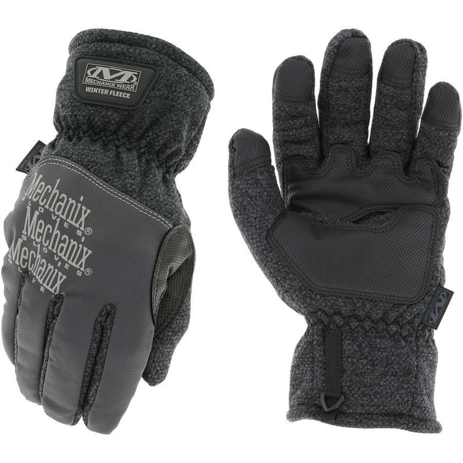 MECHANIX WEAR 1-Pack Large Unisex Grey Fleece Polyester Insulated Winter Gloves