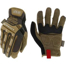 fe87cb901 MECHANIX WEAR DIY M-Pact Open Cuff Large Mens Synthetic Leather  Multipurpose Gloves