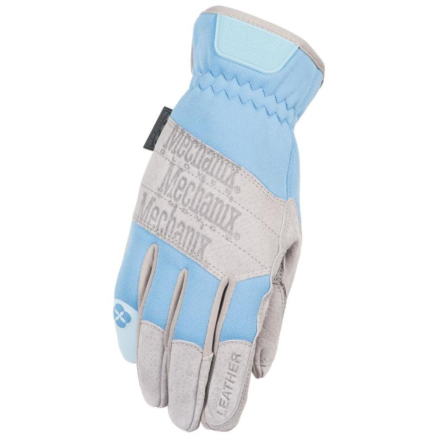 MECHANIX WEAR Womenu0027s Medium Blue Leather Garden Gloves