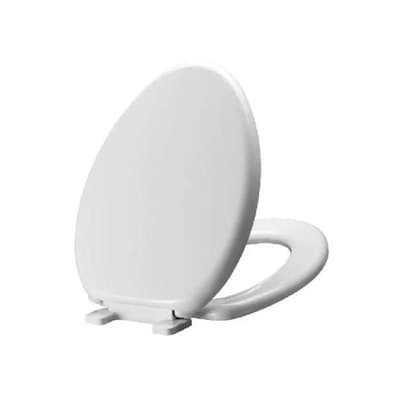 Miseno Plastic Elongated Slow Close Toilet Seat At Lowes Com