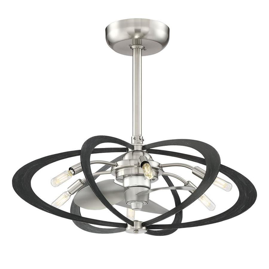 Allen + Roth Aspect 27.5-in LED Indoor Downrod Ceiling Fan