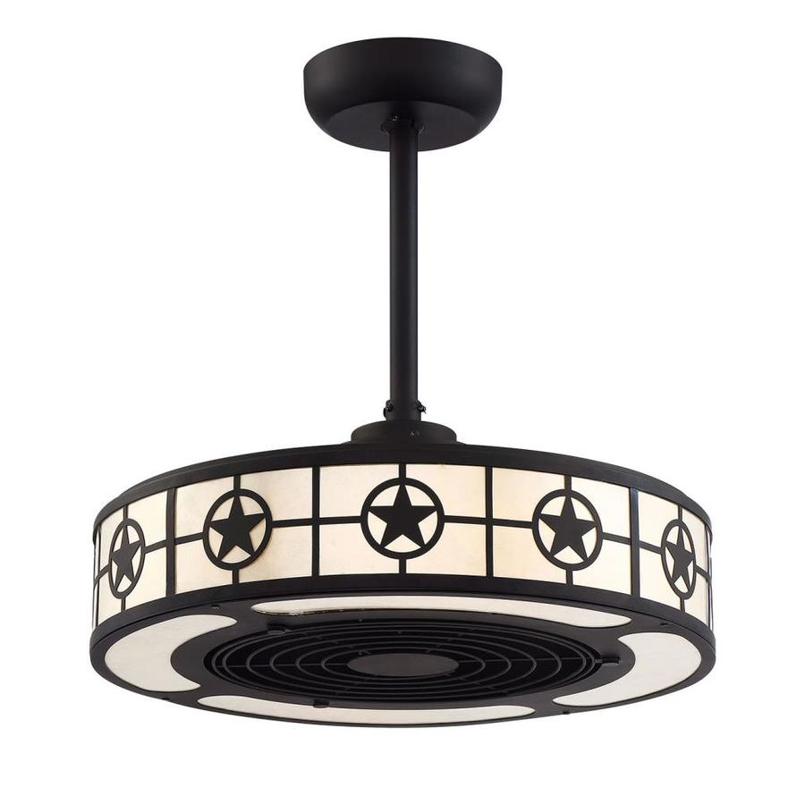 Allen Roth Lone Star 22 In Led Indoor Downrod Ceiling