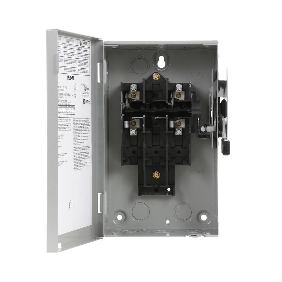 Eaton 30-Amp Non-fusible Metallic Safety Switch