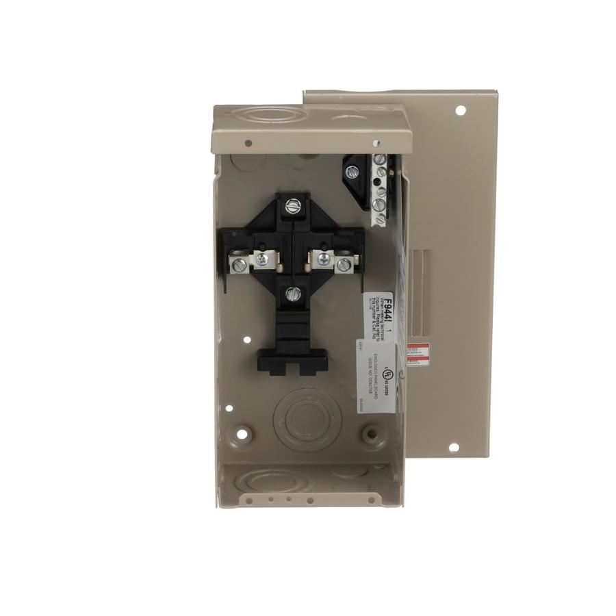 Eaton Type CH 4-Circuit 2-Space 70-Amp Main Lug Load Center