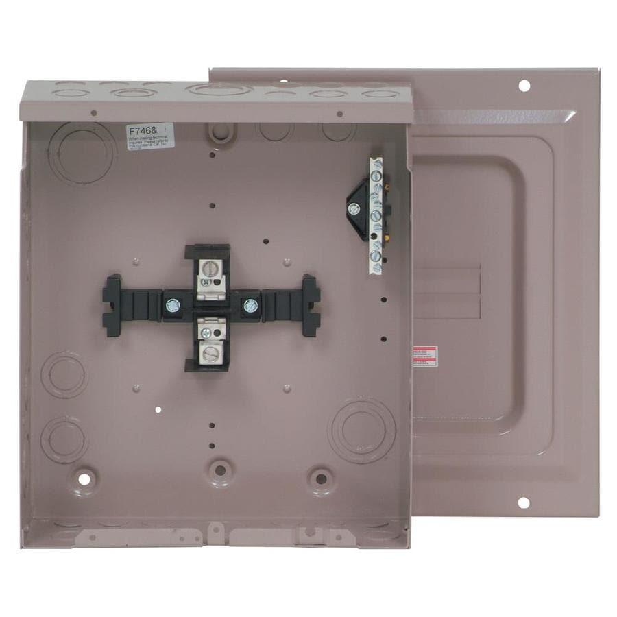 Eaton Type CH 8-Circuit 4-Space 125-Amp Main Lug Load Center